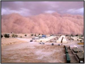 Sandstorm Head On